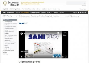 Saniflo video presentation